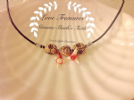 Love Treasures shark necklace..   LN-34